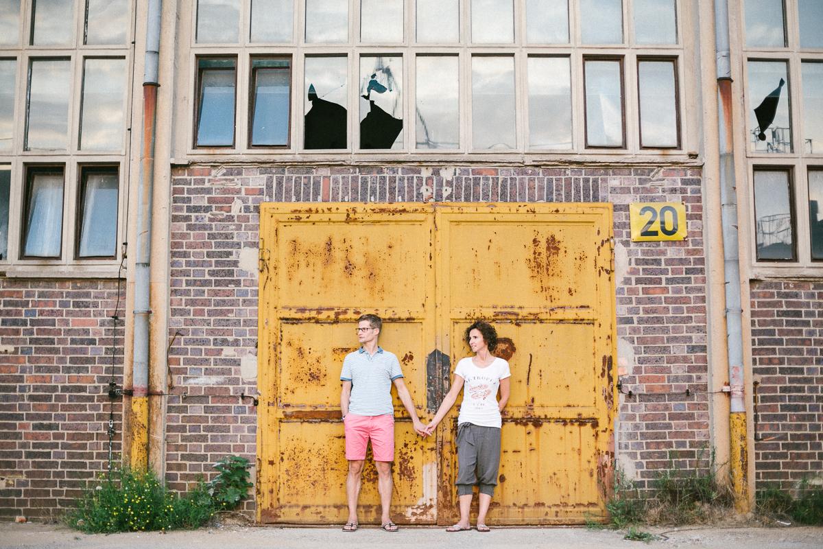 Engagementshooting in der Zeitenströmung Dresden